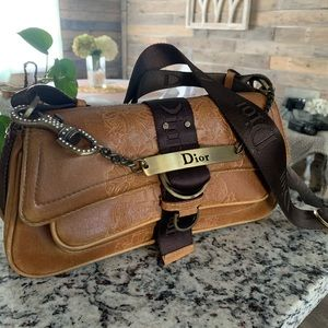 Vintage Leather Dior Bag